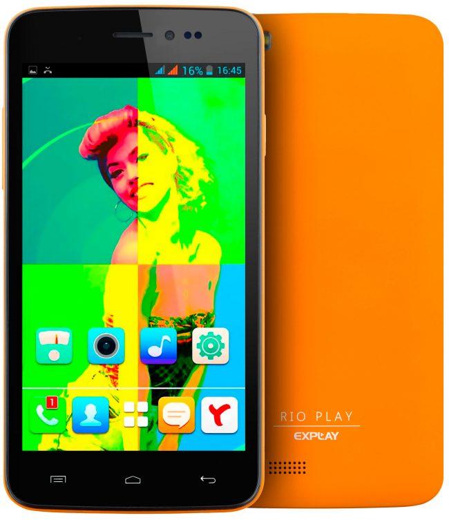 Экран Explay X5