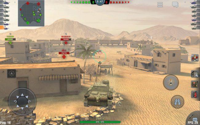 Производительность в World of Tanks Blitz