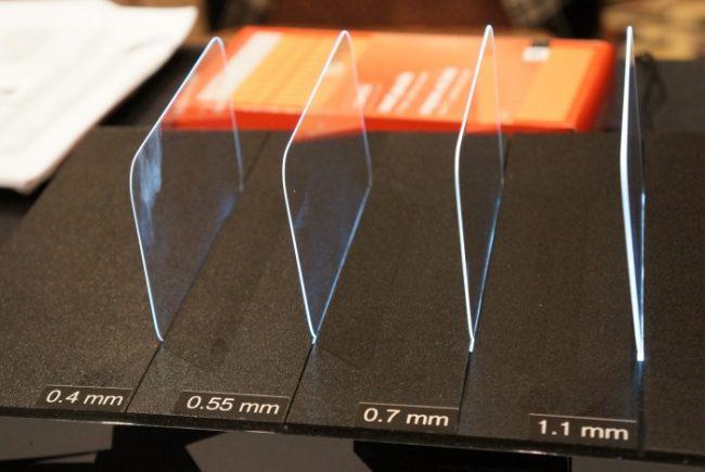 Gorilla Glass разных поколений