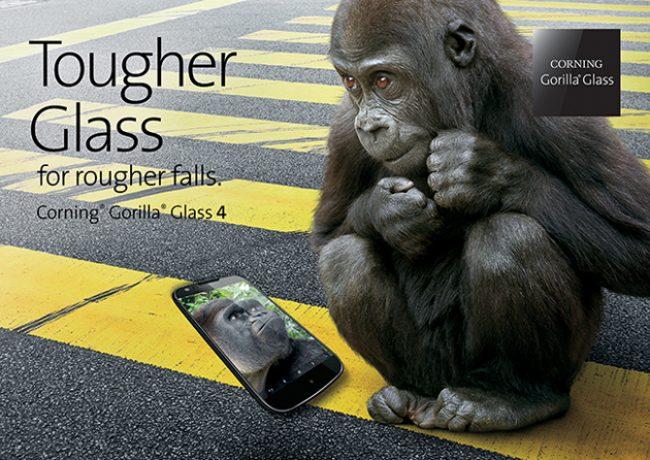 Четвертое поколение Gorilla Glass