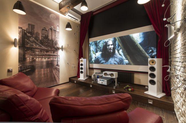 Что включает в себя домашний кинотеатр?
