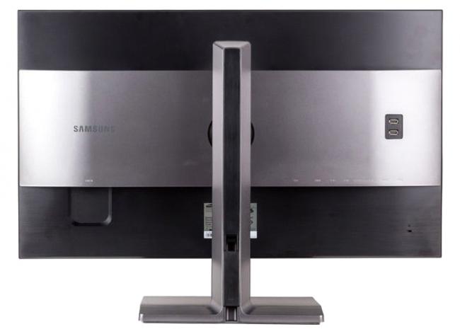 Задняя панель монитора Samsung U32D970Q