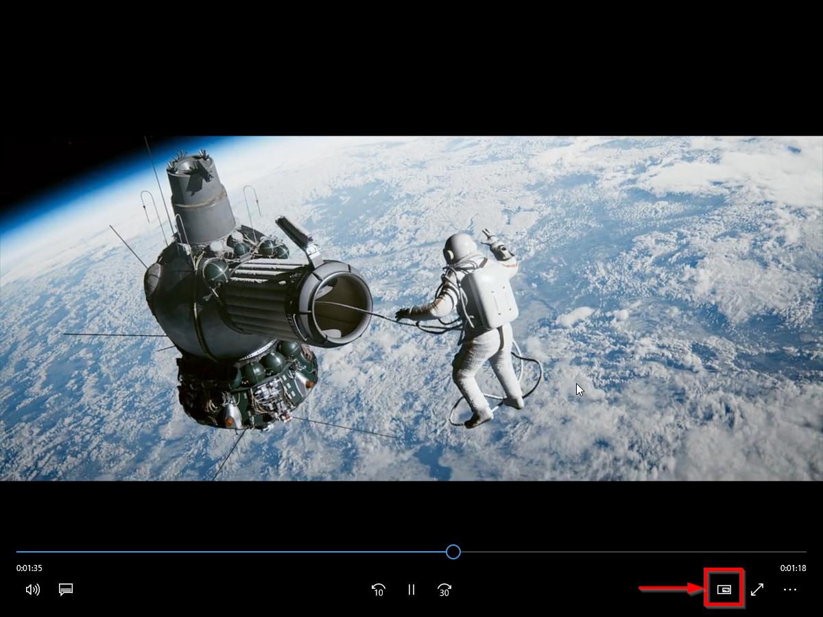 """Опция """"картинка в картинке"""" в стандартном видеоплеере"""