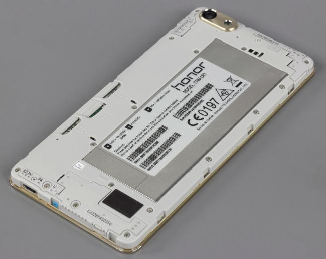 Общий вид аккумулятора Huawei Honor 4C
