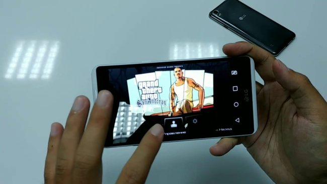 Мдьтимедиа способности LG X Power K 220DS