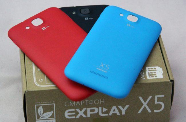 Дизайн Explay X5