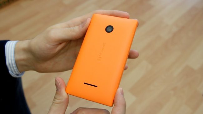 Камера Lumia 435