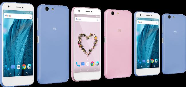Цветные телефоны ZTE
