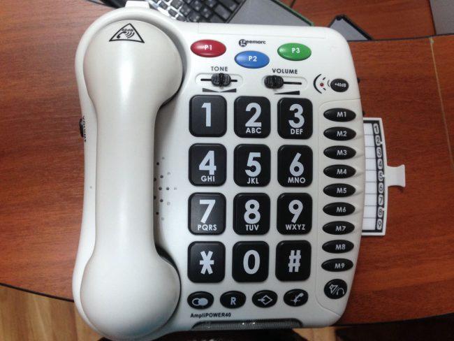 Телефоны для слабослышащих