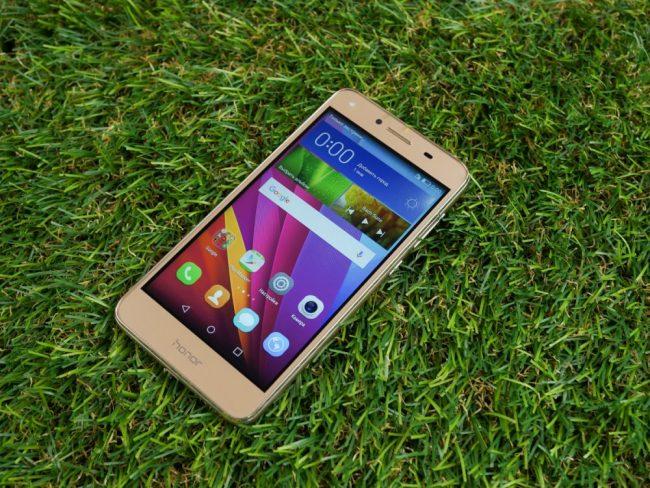 Обзор Huawei Honor 5a