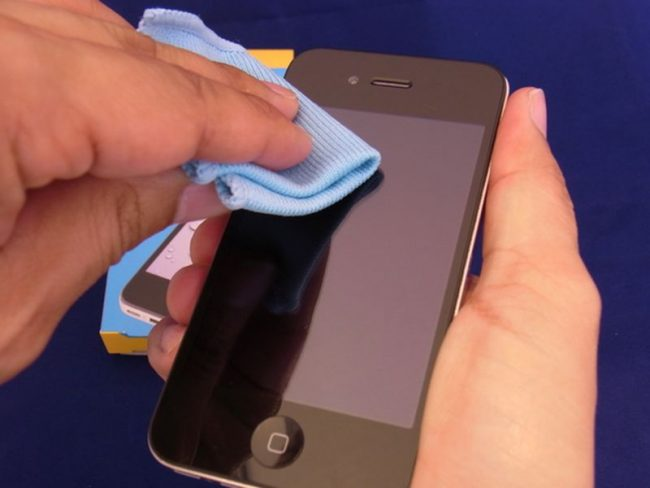 Как восстановить олеофобное покрытие своими руками