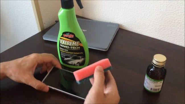 Как чистить экран