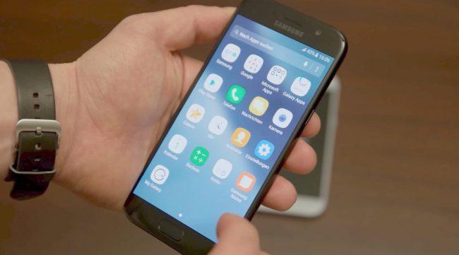 Сборка Galaxy A5