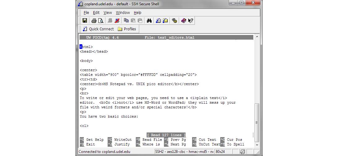 текстовый редактор для linux