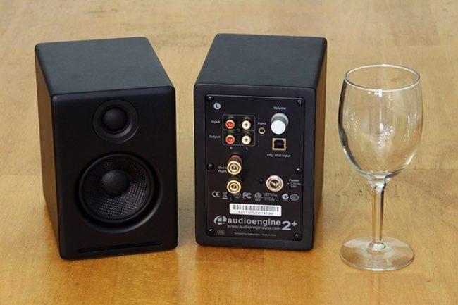 Внешний вид Audioengine A2+ Black