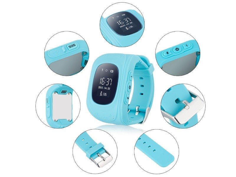 Часы-телефон для детей с gps-трекером