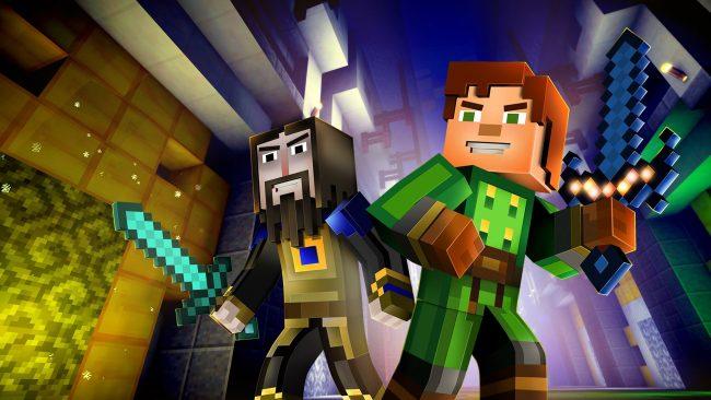 История Minecraft Story Mode