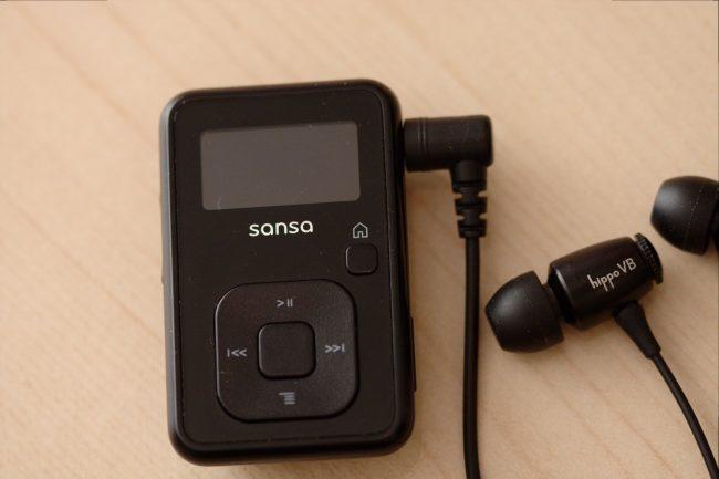 Проверяем на Sandisk Sansa Clip+
