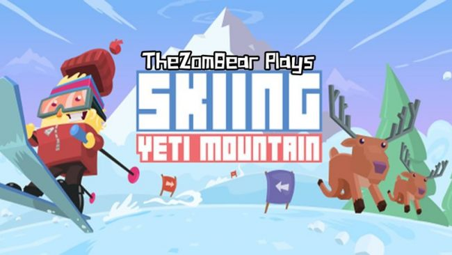 Игра Skiing Yeti Mountain