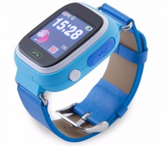 Smart Baby Watch Q80: крупный дисплей, безвредный пластик