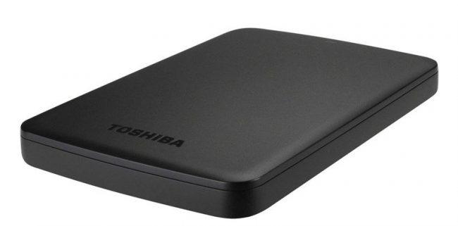 Внешний диск Toshiba Canvio Basics USB 3.0 1 ТБ
