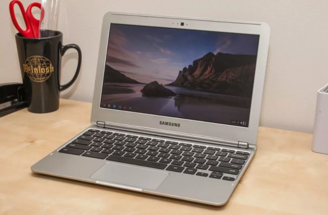 Внешний вид Samsung Chromebook