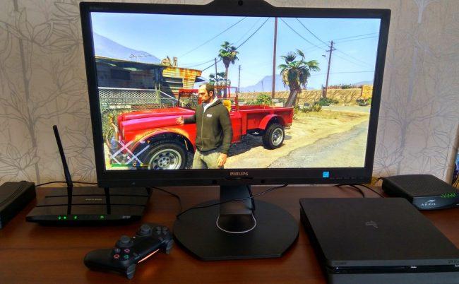 GTA V - дисплей выдает сочную картинку