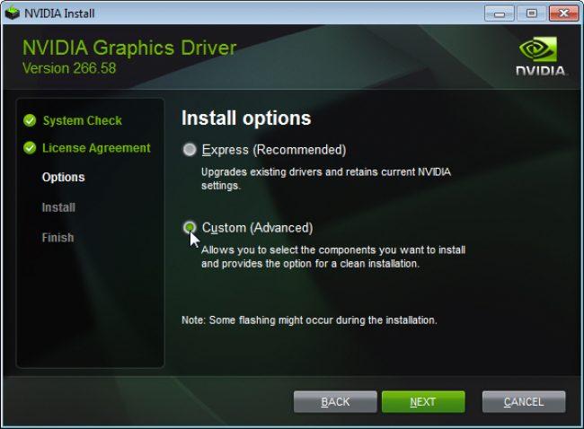 Устанавливаем Nvidia drivers