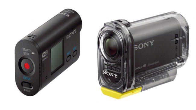 Экшн камера Sony HDR-AS15