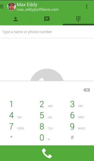 Звонки в Google Hangouts