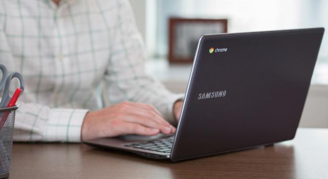 Samsung Chromebook 2 в черном корпусе
