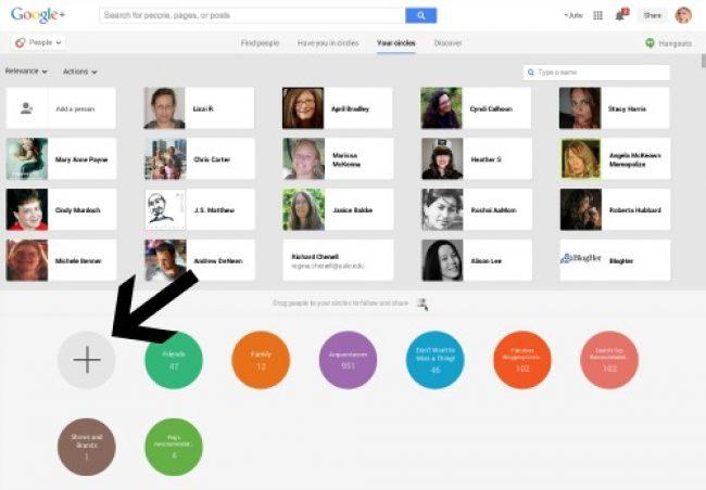 Профиль Google+