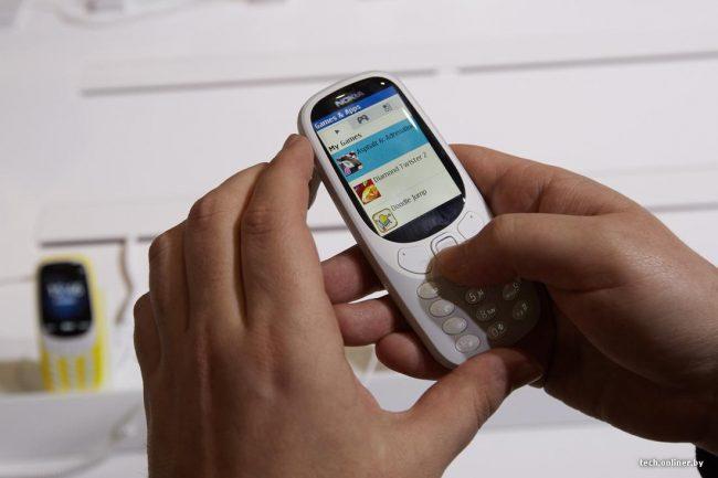 Внешний вид Nokia 3310 New