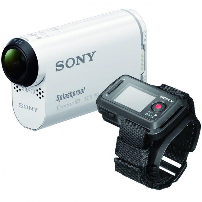 Экшн камера Sony HDR-AS100VR