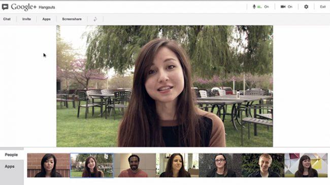 Подключение Google Hangouts