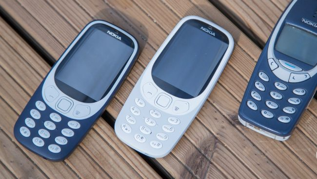 Продажи Nokia 3310 New