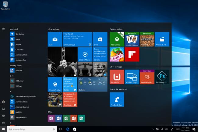 Операционная система Windows 10