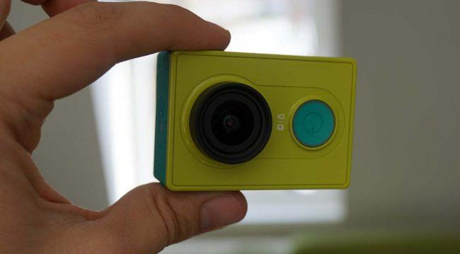 Внешний вид Xiaomi Yi Action Camera
