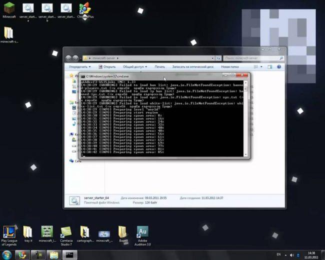 Создаем сервер Minecraft