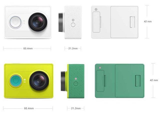 Характеристики Xiaomi Yi Action Camera