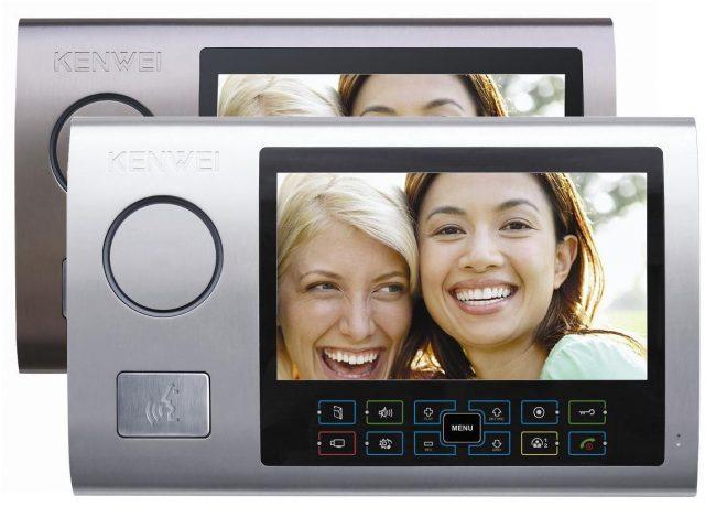 Выбирайте цвет видеодомофона