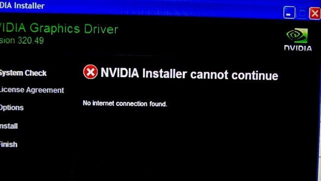 Ошибки Nvidia drivers