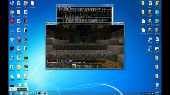 Установка Minecraft на Windows 7