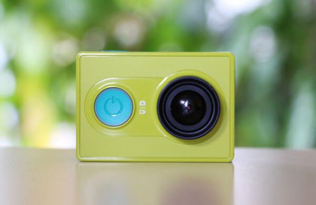 Снимаем видео на Xiaomi Yi Action Camera