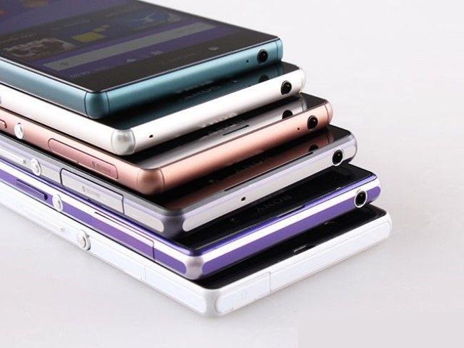 смартфоны sony xperia все модели