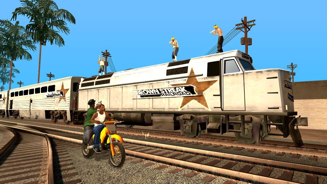 Скорость и опасность в GTA: San Andreas