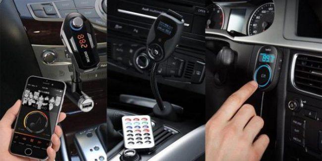 Взаимодействие FM-трансмиттера со смартфоном