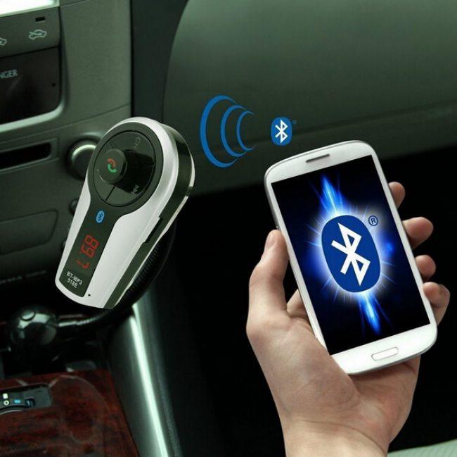 Подключение смартфона к FM-трансмиттеру через bluetooth