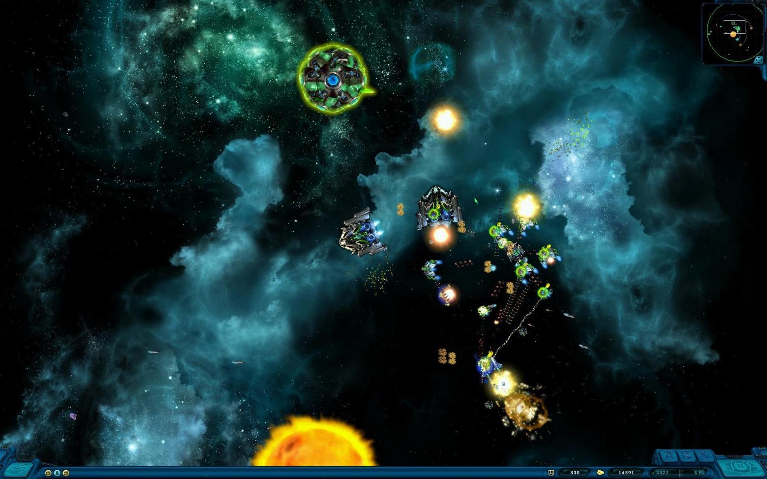 Война в галактике в Космические Рейнджеры HD
