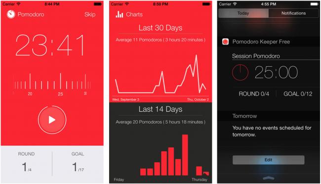приложение Focus Keeper